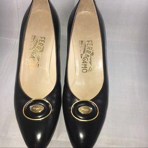 Ferragamo Heels - Size 7B
